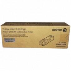Картридж лазерный Xerox 106R01458 желтый оригинальный