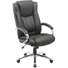 Кресло для руководителя Easy Chair 561 TR черное (рециклированная кожа/металл)