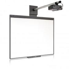 Комплект интерактивный доска Smart Board 480 77 дюймов + ключ Smart Notebook 11 + проектор Smart V30 + универсальное крепление к проектору