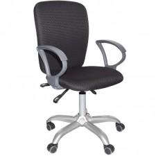 Кресло офисное Chairman 9801 черное (ткань/пластик/металл)