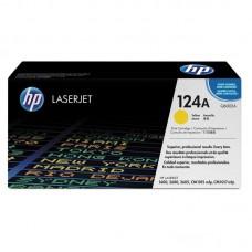 Картридж лазерный HP 124A Q6002A желтый оригинальный