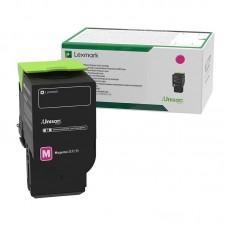 Картридж лазерный Lexmark 78C5XM0 пурпурный оригинальный повышенной емкости