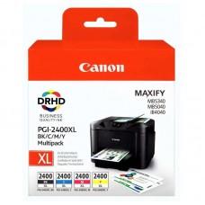 Набор картриджей Canon PGI-2400XL 9257B004 CMYK оригинальный повышенной емкости