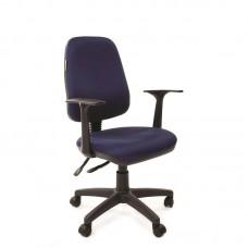 Кресло офисное Chairman 661 синее (ткань/пластик)