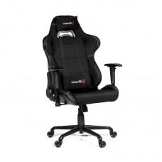 Кресло игровое Arozzi Torretta XL черное (экокожа/ткань/пластик/металл)