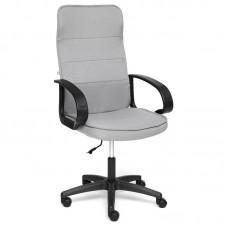 Кресло для руководителя Woker серое (пластик/ткань)