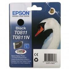 Картридж Epson T0811 C13T11114A10 черный