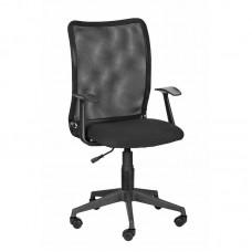 Кресло офисное 675 TPU черное (ткань/сетка/пластик)