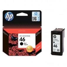 Картридж струйный HP 46 CZ637AE черный оригинальный