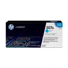 Картридж лазерный HP 307A CE741A голубой оригинальный