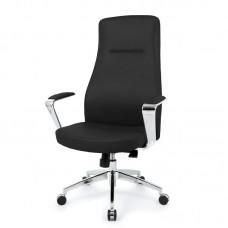 Кресло для руководителя Easy Chair 580 MPU черное (искусственная кожа/алюминий)