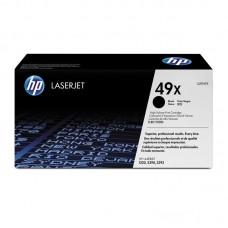 Картридж лазерный HP 49X Q5949X черный оригинальный повышенной емкости