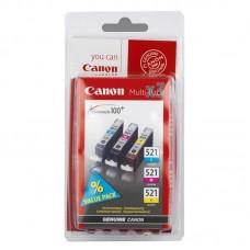 Набор картриджей Canon CLI-521 2934B010 оригинальный цветной