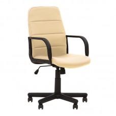 Кресло офисное Booster слоновая кость (металл/пластик/искусственная кожа)
