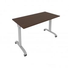 Стол складной мобильный (венге, 1300x650x757)