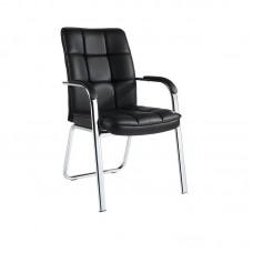 Конференц-кресло Easy Chair 810 VPU черное (экокожа/металл хромированный, 4 штуки в упаковке)