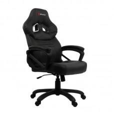 Кресло игровое Arozzi Monza черное (искусственная кожа/пластик)