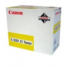 Картридж лазерный Canon C-EXV21 0455B002 желтый