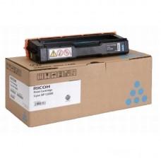Картридж лазерный Ricoh SPC220 406053/407645 голубой оригинальный