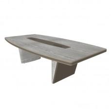 Конфренц-стол New.Tone Nt-280 (дуб серебристый/стоун, 2800х1400х740 мм)