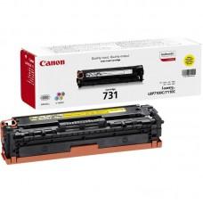 Картридж лазерный Canon Cartridge 731 6269B002 желтый оригинальный