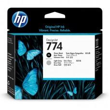 Головка печатающая HP 774 P2W00A фото черная и светло-серая