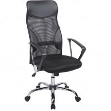 Кресло для руководителя Easy Chair 506 TPU черное (ткань/сетка/искусственная кожа/пластик/металл)
