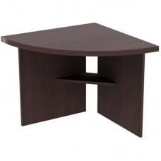 Стол для переговоров Born угловой элемент левый (венге, 840x840x750 мм)