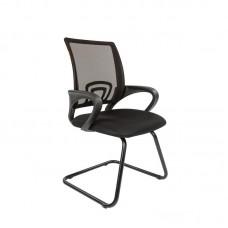Конференц-кресло Chairman 696 V на полозьях черное (сетка/металл)