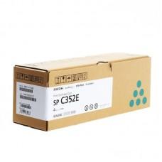 Картридж лазерный Ricoh SP C352E 408216 голубой оригинальный