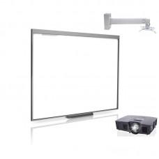Комплект интерактивный Smart Board 480 77 дюймов + ключ Smart Notebook + проектор V10 + крепление DSM-14Kw