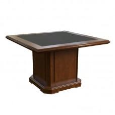 Элемент стола для переговоров Washington центральный 29702 (темный орех, 1200x1200x760 мм)