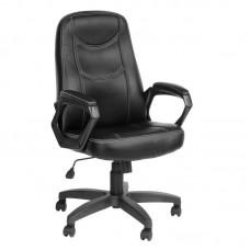 Кресло для руководителя Амиго 511 черное (искусственная кожа/пластик)