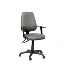 Кресло офисное Chairman 661 серое (ткань/пластик)