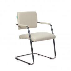 Конференц-кресло Бюрократ СH-271-V белый (искусственная кожа/металл)