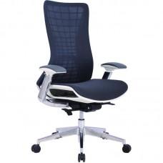 Кресло для руководителя Easy Chair-571 TTW черное (ткань/сетка/металл)