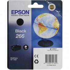 Картридж струйный Epson T266 C13T26614010 черный оригинальный