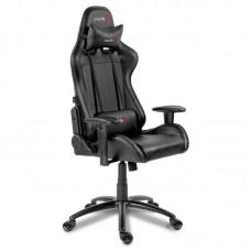 Кресло игровое Arozzi Verona черное (экокожа/пластик)
