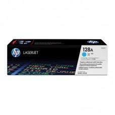 Картридж лазерный HP 128A CE321A голубой оригинальный