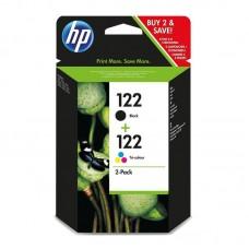 Набор картриджей HP 122/122 CR340HE черный и цветной оригинальный