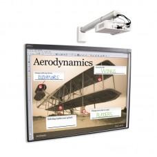 Комплект интерактивный доска Smart Board 480 77 дюймов + ключ Smart Notebook + проектор Smart V30 + крепление DSM-14Kw
