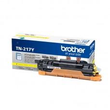 Тонер-картридж Brother TN-217Y желтый оригинальный