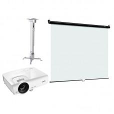 Комплект интерактивный экран Digis DSOC-1101 + проектор Vivitek DS262 + крепление Digis DSM2