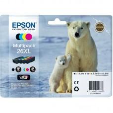 Набор картриджей Epson 26XL C13T26364010 CMYK оригинальный повышенной емкости