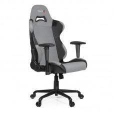 Кресло игровое Arozzi Torretta серое (экокожа/ткань/пластик/металл)