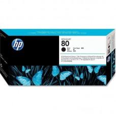 Головка печатающая HP 80 C4820A черная оригинальная