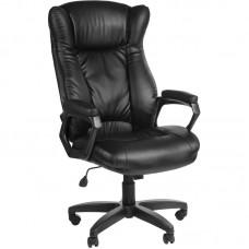 Кресло для руководителя Адмирал черное (искусственная кожа/пластик)