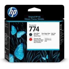 Головка печатающая HP 774 P2V97A матовая черная и хроматическая красная