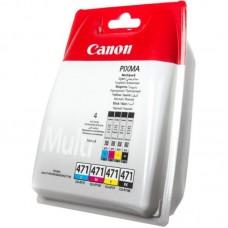 Набор картриджей Canon CLI-471 0401C004 Multipack (4 цвета)