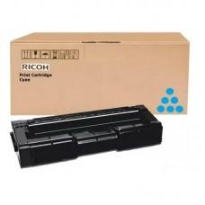 Картридж лазерный Ricoh SPC340E 407900 голубой оригинальный